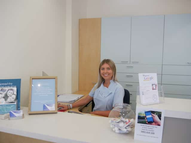 Smile Designs receptionist